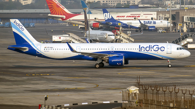 A picture of VTIUJ - Airbus A321271NX - IndiGo - © Sanskar nawani