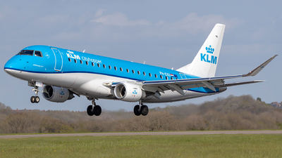 PH-EXU - Embraer 170-200SD - KLM Cityhopper