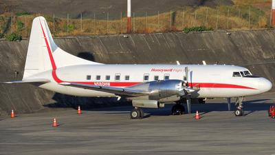 N580HW | Convair CV-580 | Honeywell Aerospace | Huy Do | JetPhotos