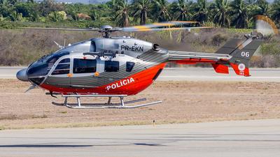 PR-EKN - Eurocopter BK117C-2 - Brazil - Military Police
