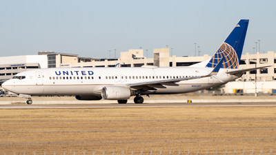 A picture of N36207 - Boeing 737824 - United Airlines - © Matt - AtxMattSpotting