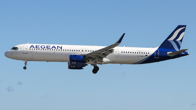 A picture of SXNAA - Airbus A321271NX - Aegean Airlines - © Conor McGeehan