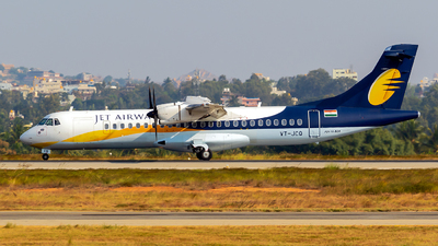 VT-JCQ - ATR 72-212A(500) - Jet Airways