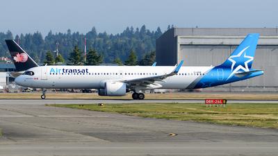 A picture of CGOIK - Airbus A321271NX - Air Transat - © Chung Kwok
