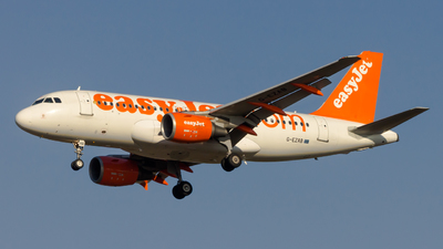 A picture of GEZAB - Airbus A319111 - easyJet - © Peter Tolnai