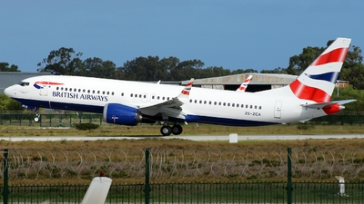 ZS-ZCA - Boeing 737-8 MAX - British Airways (Comair)