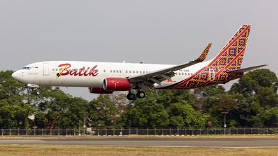 PK-LBS - Boeing 737-8GP - Batik Air