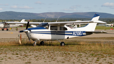 N210RJ - Cessna T210L Turbo Centurion  - Private