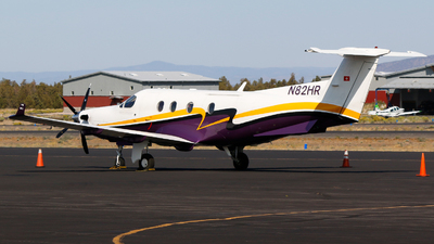 A picture of N82HR - Pilatus PC12/45 - [408] - © Alec Mollenhauer