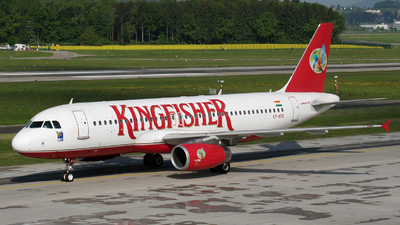 VT-KFE - Airbus A320-232 - Kingfisher Airlines
