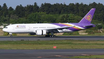 HS-TJW - Boeing 777-2D7(ER) - Thai Airways International