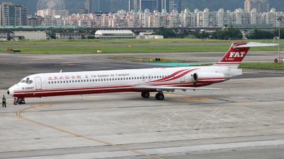 B-28037 - McDonnell Douglas MD-82 - Far Eastern Air Transport (FAT)