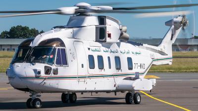 7T-WVD - Agusta-Westland AW-101 - Algeria - Air Force
