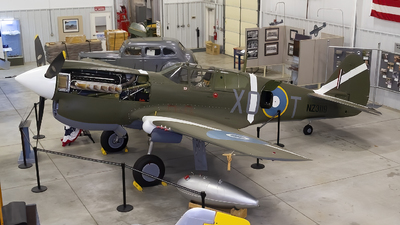N5813 - Curtiss P-40 Warhawk - Private