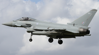 ZK301 - Eurofighter Typhoon FGR.4 - United Kingdom - Royal Air Force (RAF)
