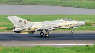 2719 - Chengdu F-7BGI - Bangladesh - Air Force