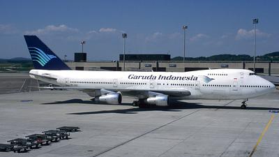 PK-GSE - Boeing 747-2U3B - Garuda Indonesia