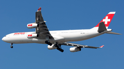 HB-JMK - Airbus A340-313X - Swiss