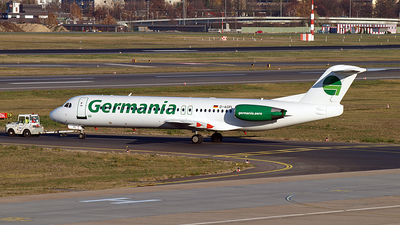 D-AGPL - Fokker 100 - Germania