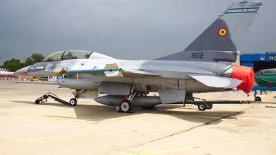 1612 - General Dynamics F-16BM Fighting Falcon - Romania - Air Force