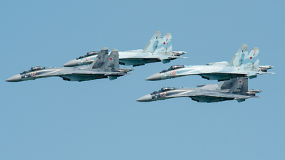 RF-95243 - Sukhoi Su-35S - Russia - Air Force