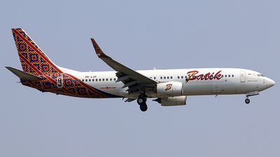PK-LZP - Boeing 737-8GP - Batik Air