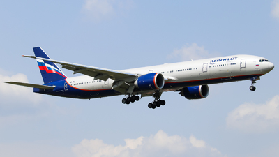 A picture of VQBIL - Boeing 7773M0(ER) - Aeroflot - © Vitaly Revyakin