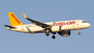 A picture of TCNCV - Airbus A320251N - Pegasus Airlines - © Bora Polater
