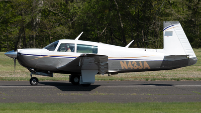 N43JA - Mooney M20J - Private