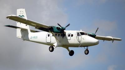 A picture of J8MUS - De Havilland DHC6300 Twin Otter - [553] - © Nigel Steele