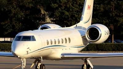 C-GGPM - Gulfstream G550 - Private