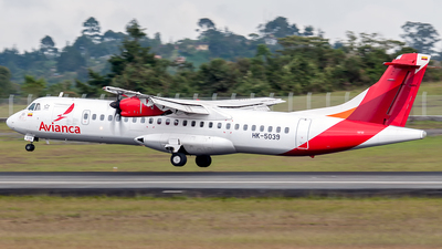 HK-5039 - ATR 72-212A(600) - Avianca