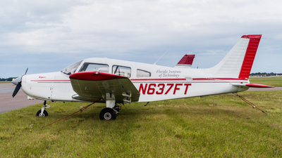 N637FT - Piper PA-28-161 Warrior III - FIT Aviation (Florida Institute of Technology)