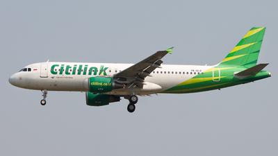 PK-GLG - Airbus A320-214 - Citilink