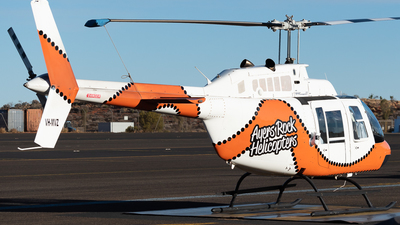 VH-MVZ - Bell 206B JetRanger III - Ayres Rock Helicopters