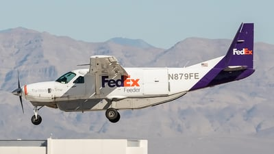 N879FE - Cessna 208B Super Cargomaster - FedEx Feeder (West Air)