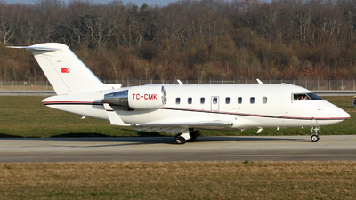 TC-CMK - Bombardier CL-600-2B16 Challenger 605 - Private