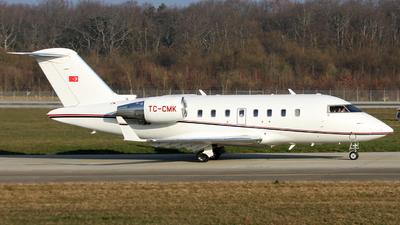 A picture of TCCMK - Bombardier Challenger 605 - [5767] - © Claude Davet