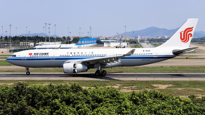 A picture of B6130 - Airbus A330243 - Air China - © nibrage