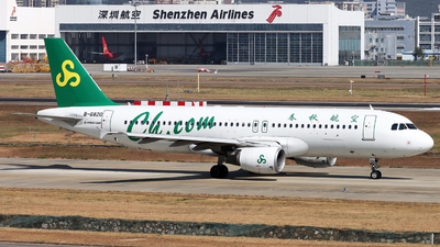 A picture of B6820 - Airbus A320214 - Spring Airlines - © Danny-Long