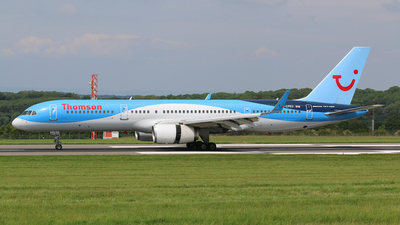 G-CPEU - Boeing 757-236 - Thomson Airways