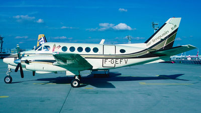 F-GEFV - Beechcraft A100 King Air - ALTA Air Limousin
