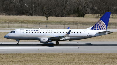 A picture of N87337 - Embraer E175LR - United Airlines - © DJ Reed - OPShots Photo Team