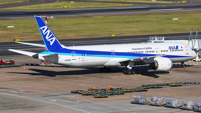 A picture of JA890A - Boeing 7879 Dreamliner - All Nippon Airways - © Mark H