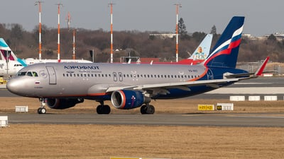 A picture of VQBST - Airbus A320214 - Aeroflot - © Boscgnspotter