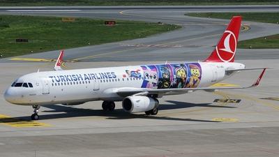TC-JSU - Airbus A321-231 - Turkish Airlines