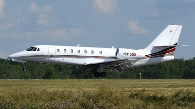 A picture of N315QS - Cessna 680 Citation Sovereign - NetJets - © DJ Reed - OPShots Photo Team