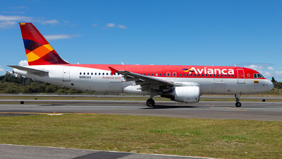 N980AV - Airbus A320-214 - Avianca