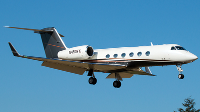 N453FX - Gulfstream G-IV-X  G450 - Private
