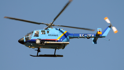 EC-FFV - MBB Bo105CBS-4 - Spain - Customs